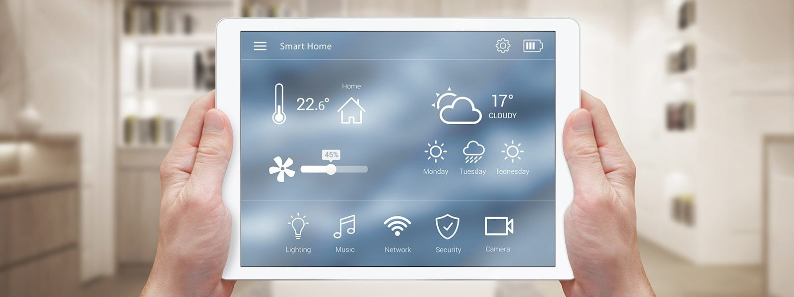 Home Automation on a Tablet