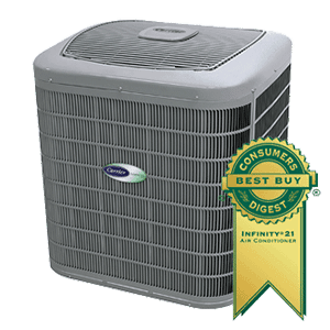 Carrier Comfort 21 24ANB1 Central Air Conditioner