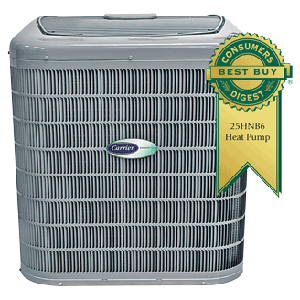 Carrier Infinity 16 25HNB6 Heat Pump