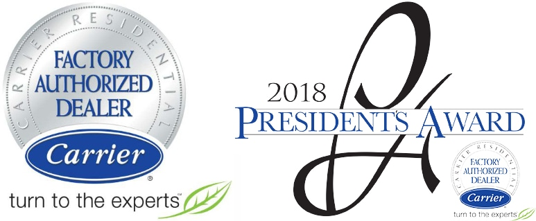 2018 Carrier President's Award.