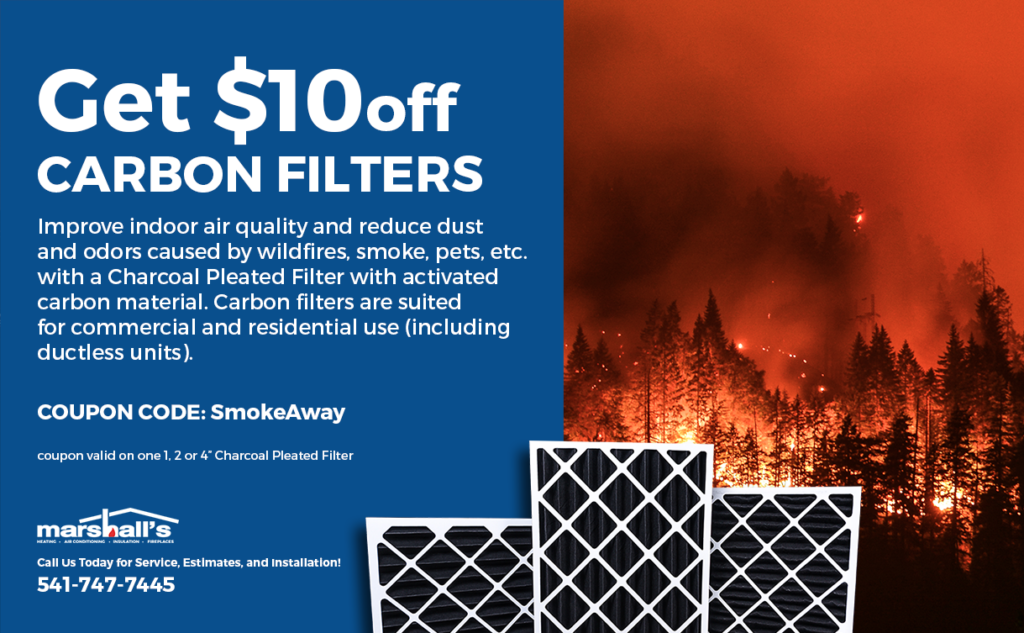 get $10 off carbon filters, use coupon code: smokeaway