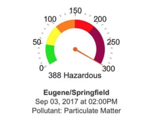 pollutant: particulate matter from lrapa.org